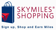 Delta Airlines SkyMiles cashback shopping