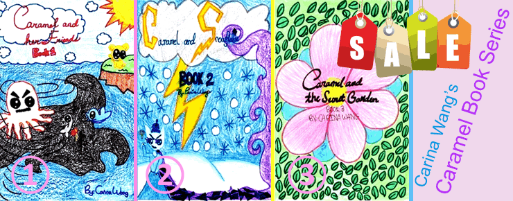 Carina's Caremel Book Series