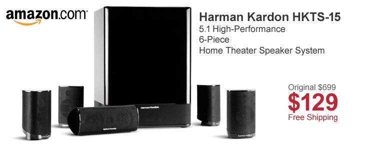 Harman Kardon HKTS-15 Home Theater Speaker System