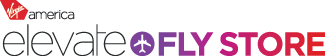 Virgin America Elevate Fly Store cashback shopping